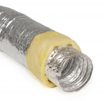 Flexiable Duct Insulation Glasswool