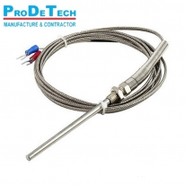 K/J/E/PT100 Grounded Screw Thermocouple 0-600C